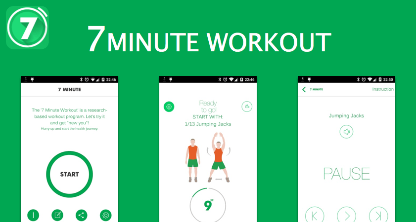 7 Minute Workout: Fitness App app