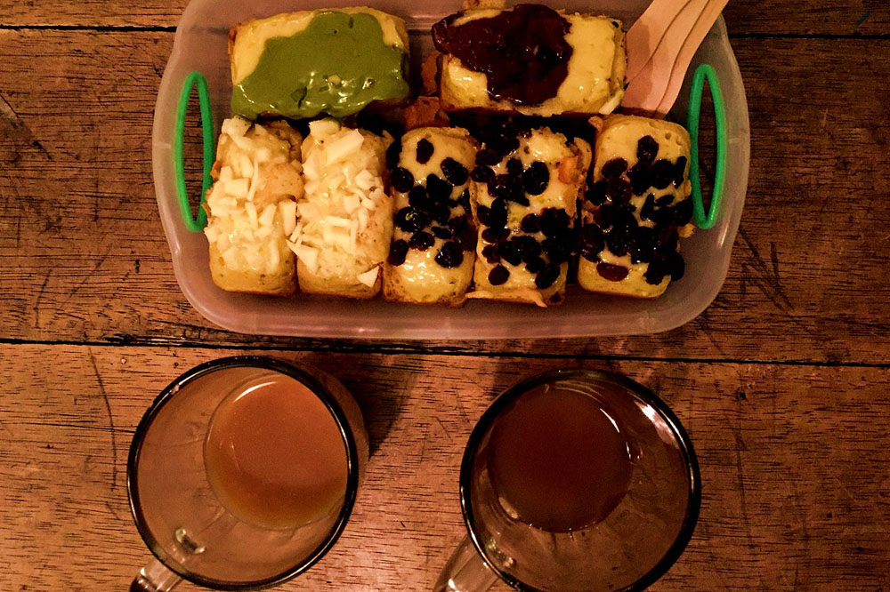 bandrek herbal ginger tea cold remedy indonesia