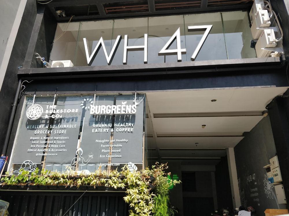 burgreens vegetarian restaurant menteng