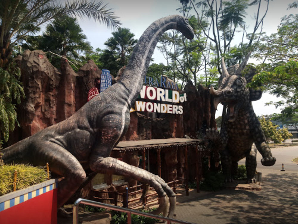 citra raya world of wonders waterpark tangerang