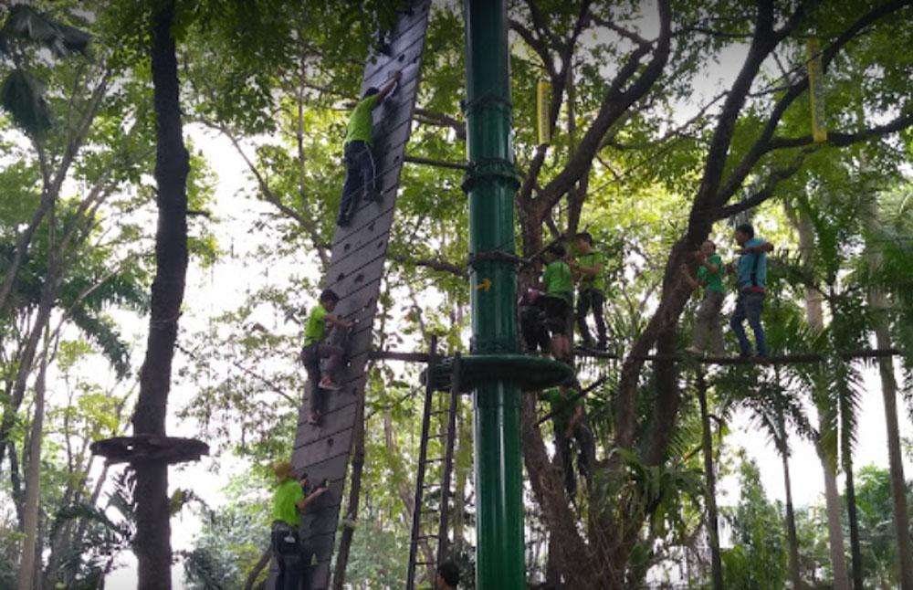 outbond holic ancol adventure park jakarta