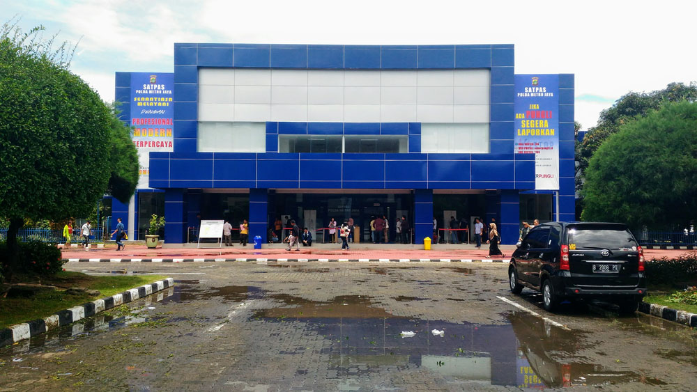 satpas building exterior