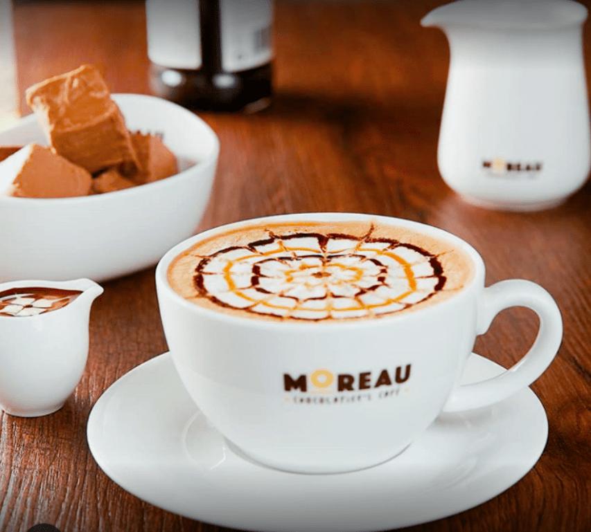 Moreau Chocolatier's Cafe coffee