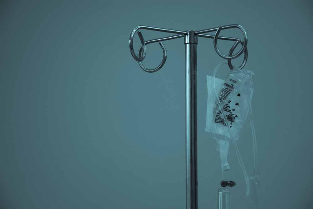 infusion medical hospital sentences