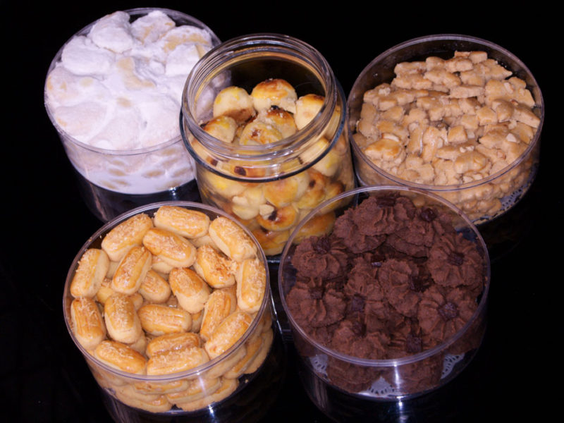 Trying out Kue: Indonesian's Classic Festive Cookies in Lebaran