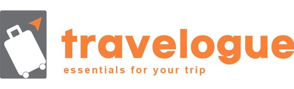travelogue logo travel gear store jakarta