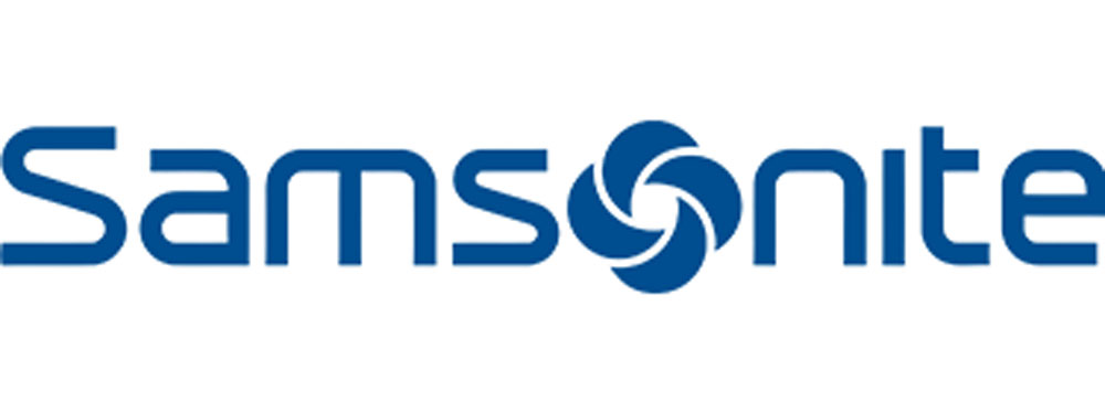 samsonite logo travel gear store jakarta