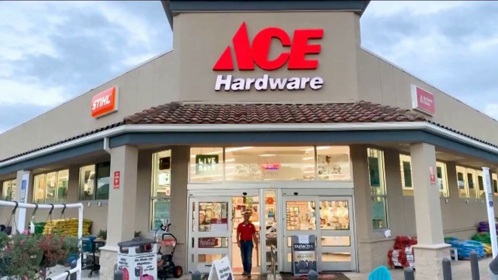 view of ace hardware