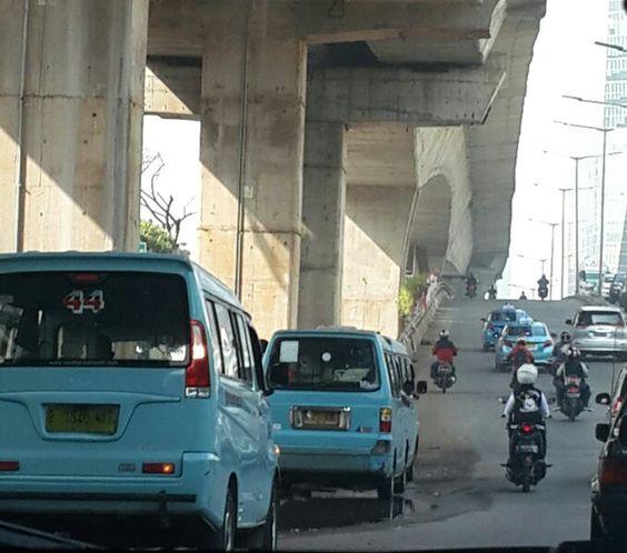 Jakarta's Classic Public Van: Angkot