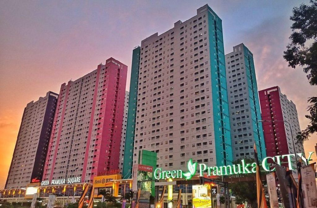 Affordable Budget Apartments in Central Jakarta: Green Pramuka City
