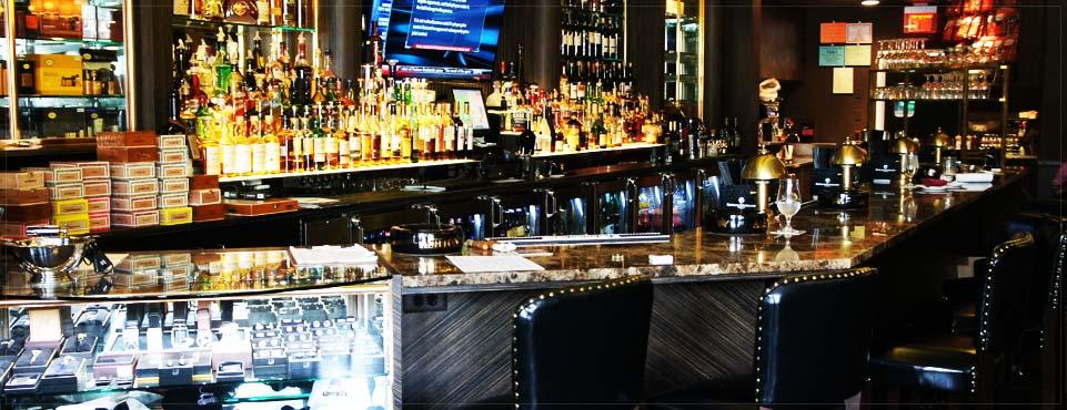 Churchill Wine & Cigar Bar view