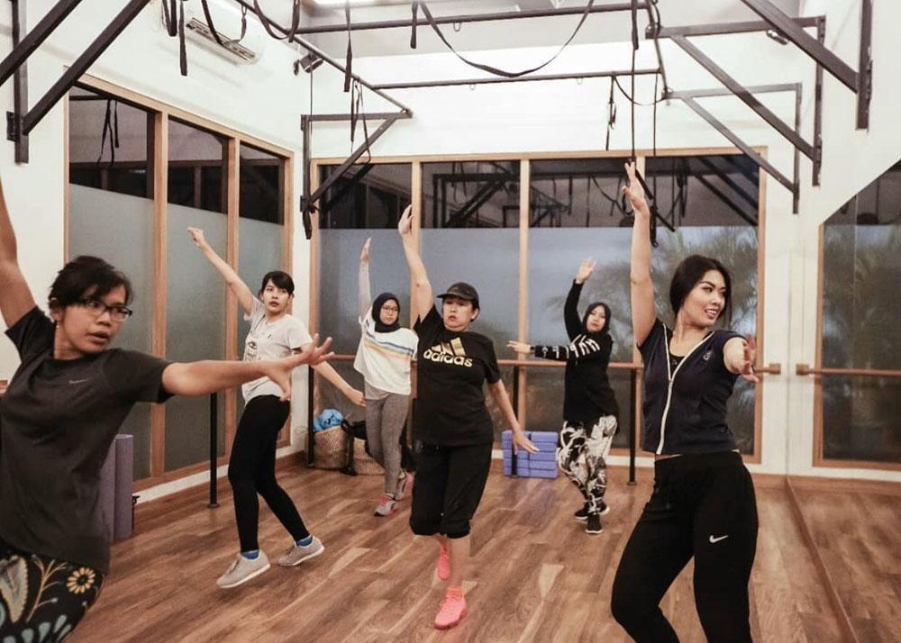 core best zumba class studio jakarta