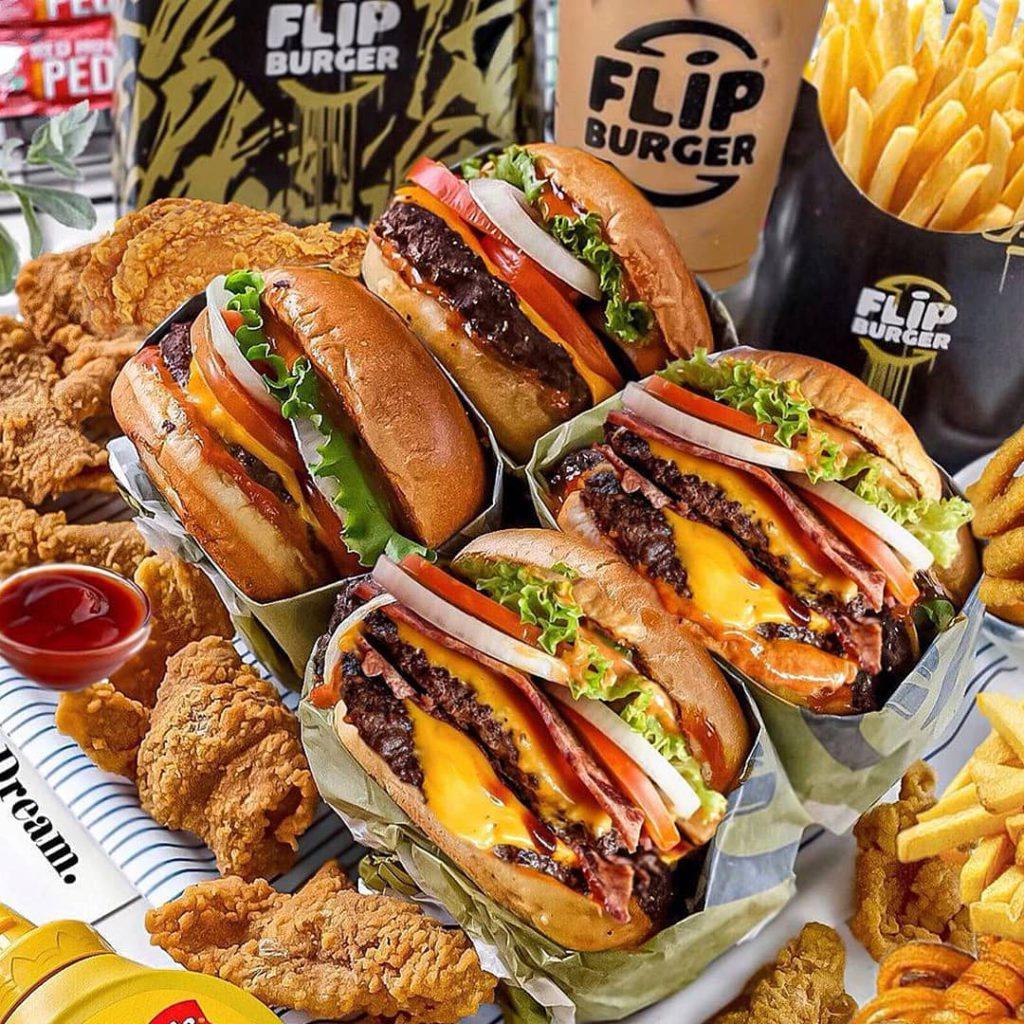 Flip Burger foods