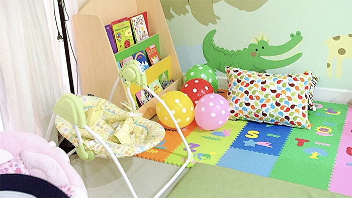 reading area of Happy Tree House Daycare