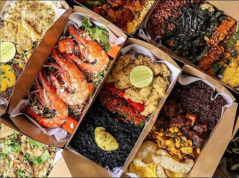 kilo kitchen seafood restaurant jakarta squid ink rice calamari salmon roe