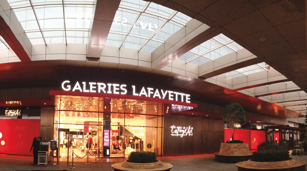 beauty product store Galeries Lafayette