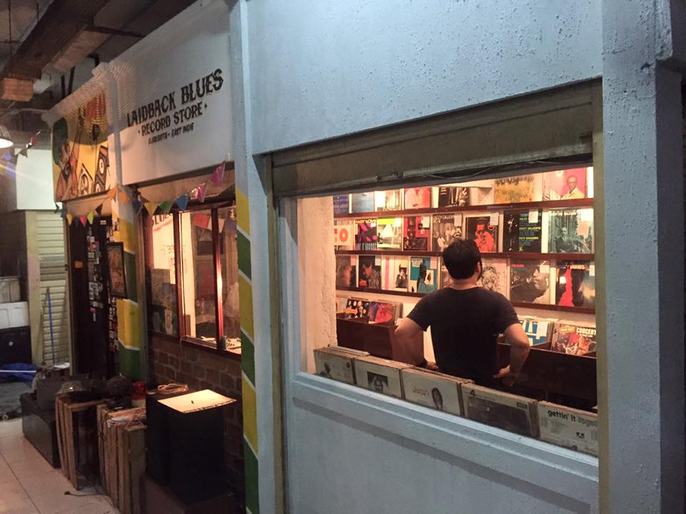view of  Laidback Blues Record Store