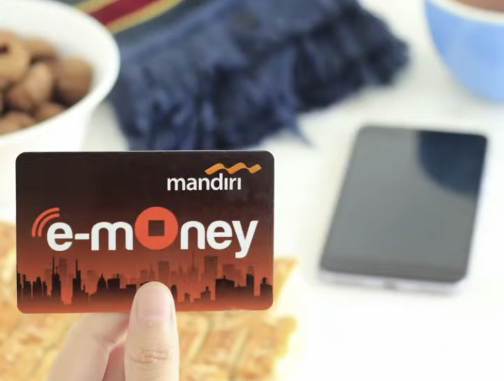 e-money transport card jakarta