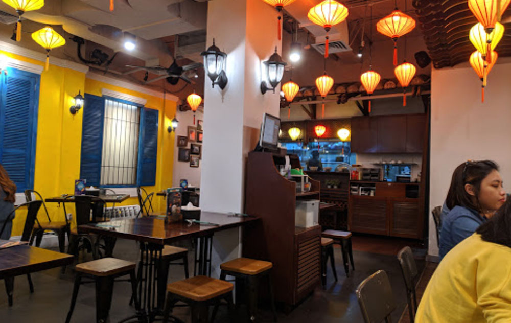 monViet vietnamese restaurant jakarta