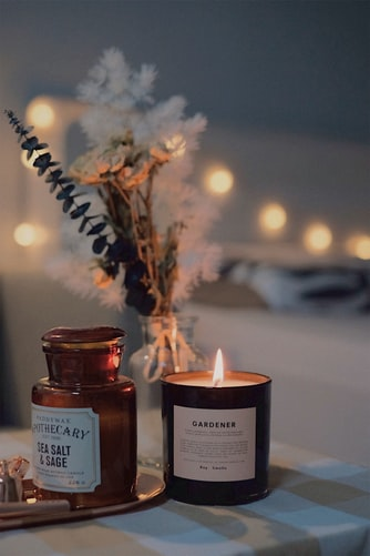 candle for spa