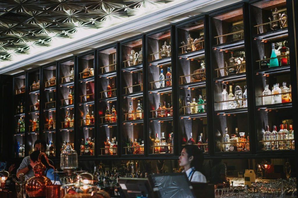 The Prohibition bar