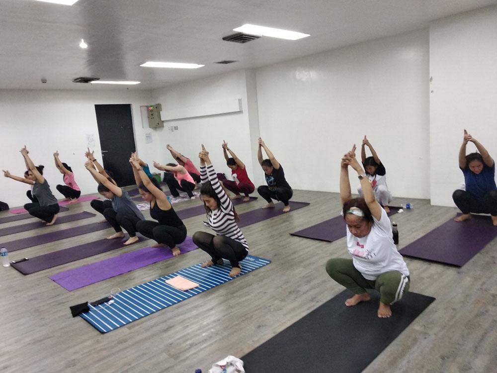 yoga best fitness center menteng