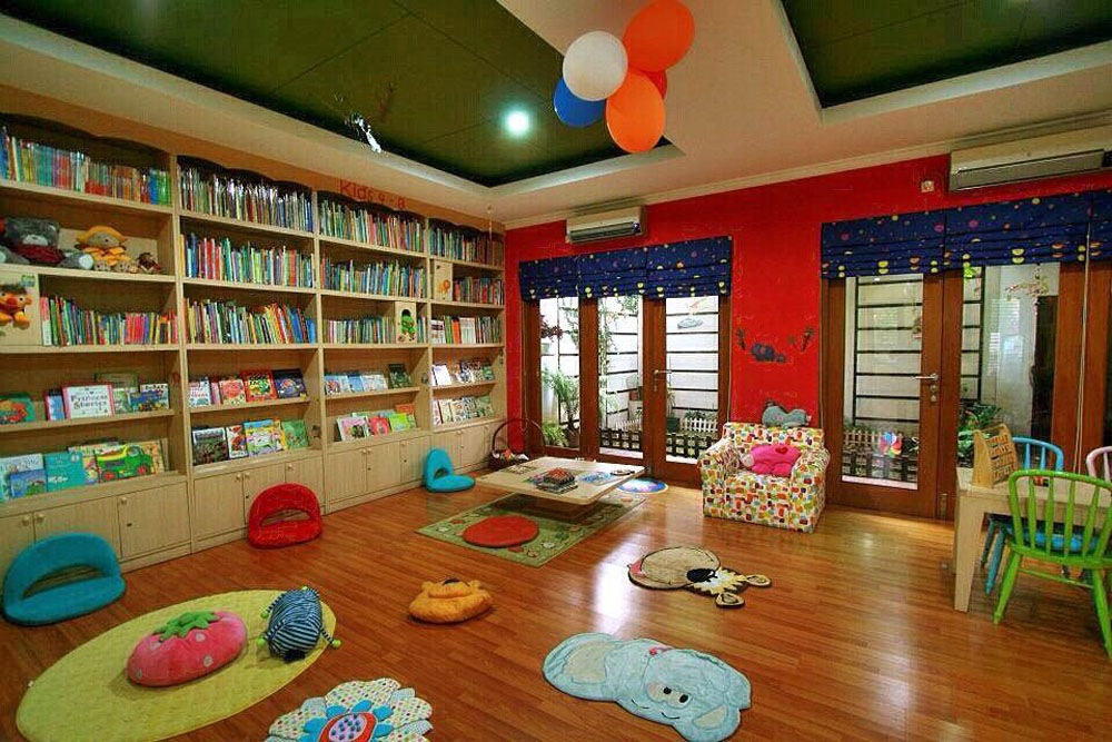 rimba baca best library jakarta