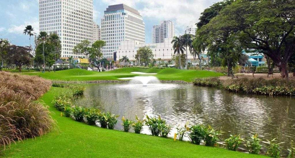 view of field Senayan National Golf Club