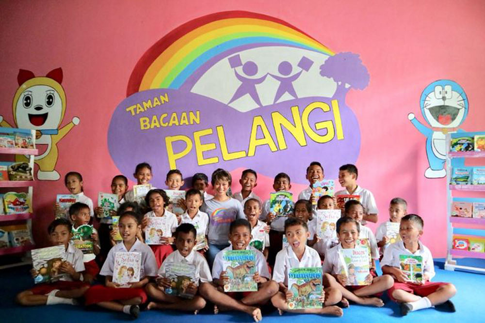 taman baca pelangi volunteer opportunities jakarta
