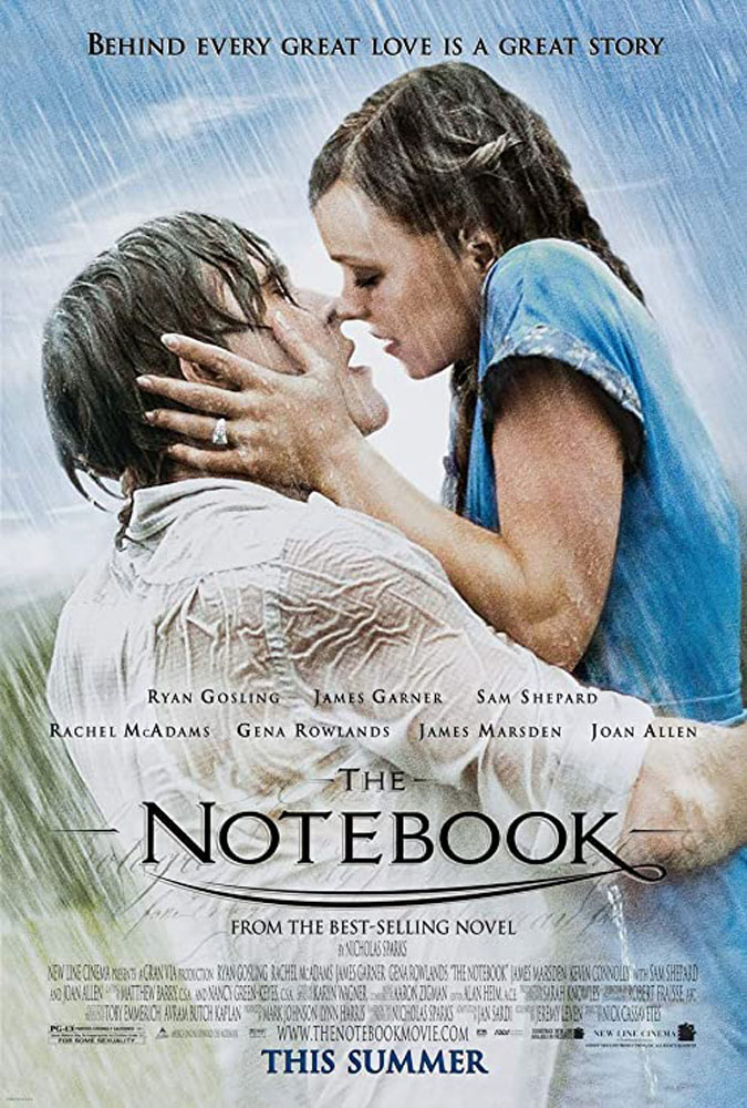 the notebook romance movie to watch