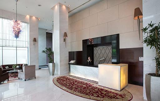 lobby of Senayan City Residence