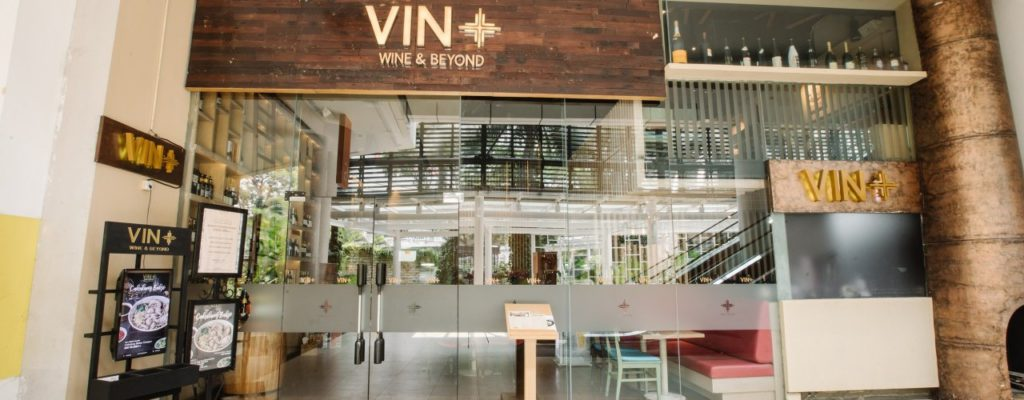 Vin+ Wine & Beyond view