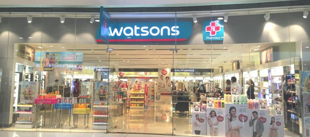 view of Watsons
