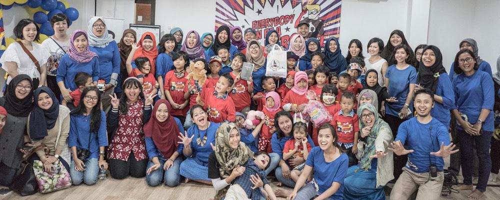 komunitas taufan kanker volunteer opportunities jakarta