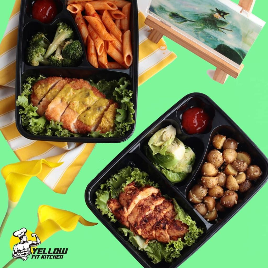 Yellow Fit Kitchen foods