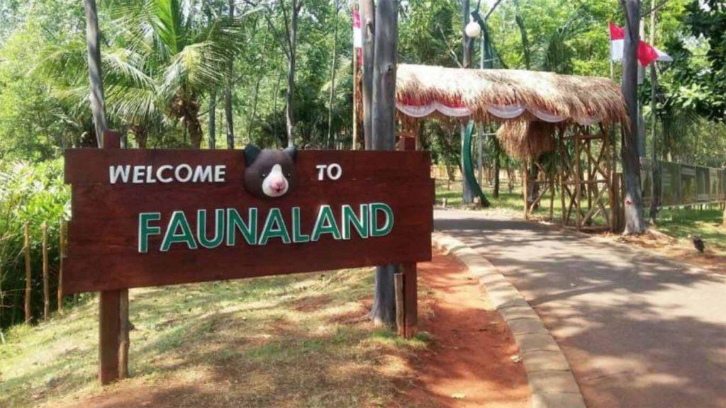 Faunaland Ancol gate