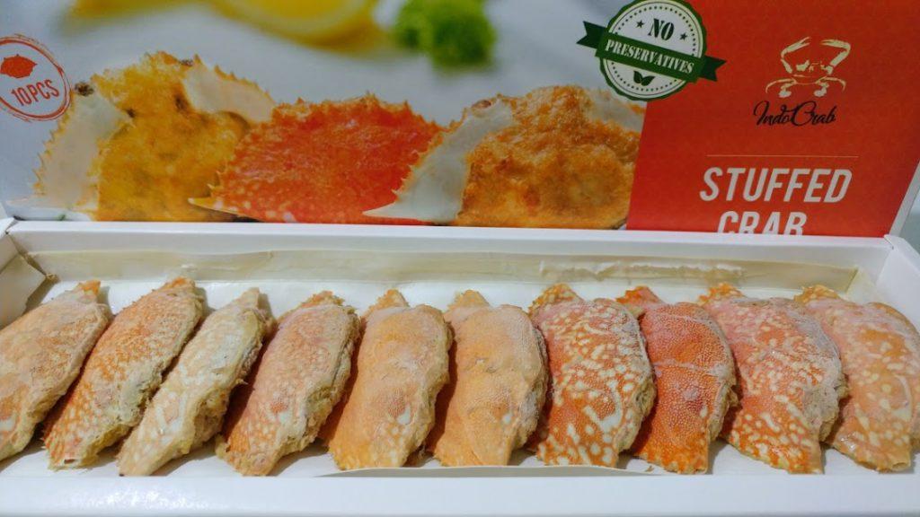Frozen Crab foods