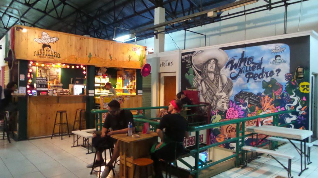 Pasar Santa view