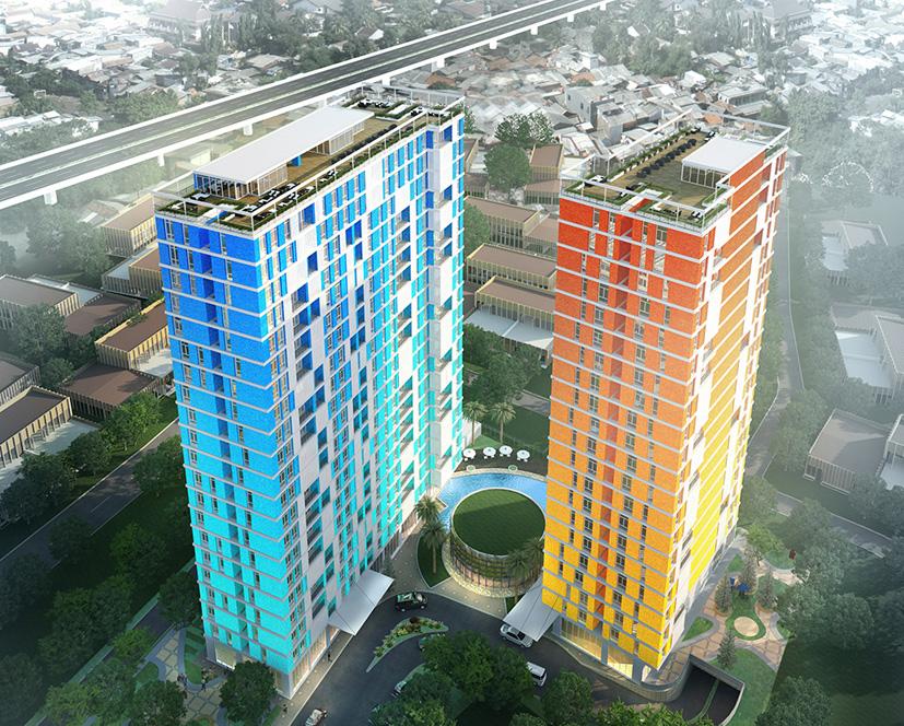 building of pejaten park residence
