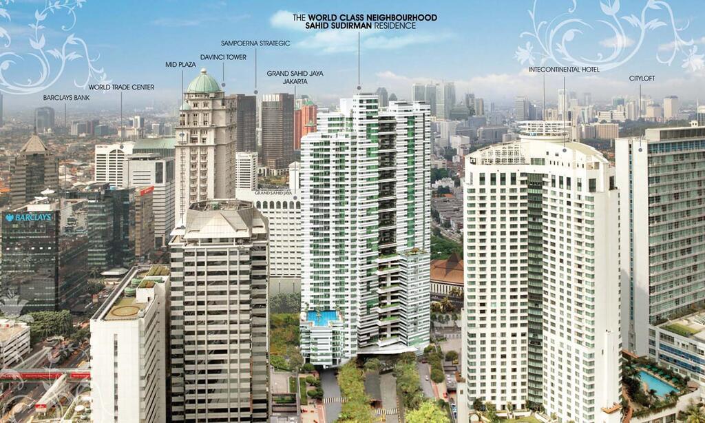 Sahid Sudirman Residence view