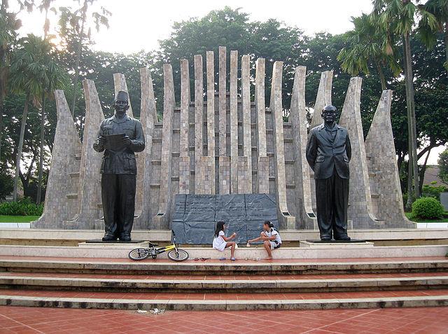 Proclamation statue
