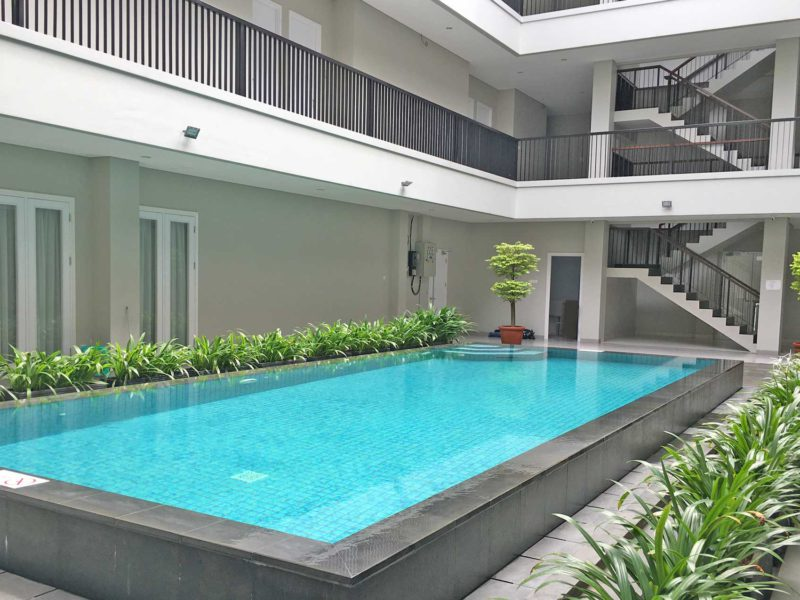 Kost with Swimming Pool in Jakarta