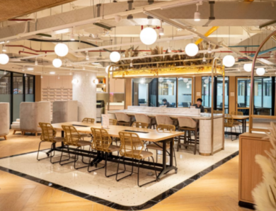 Coworking Spaces near Central Park Mall