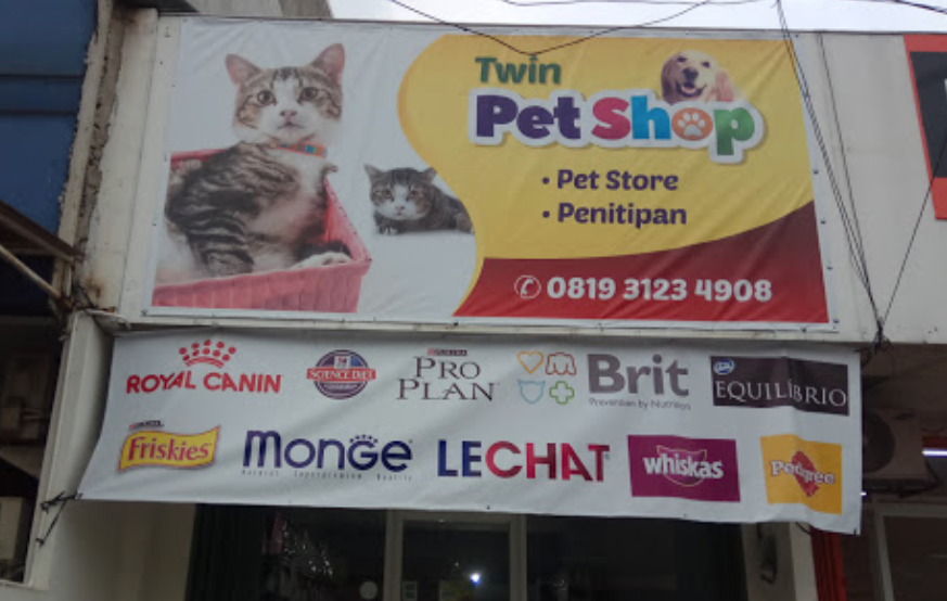 Twin Pet Shop and pet hotel