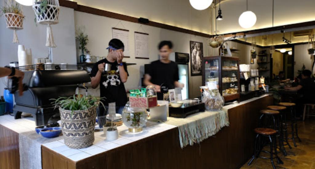 tempat ngopi di bandung kopi toko djawa