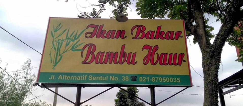 tempat makan di Sentul ikan bakar bumbu haur