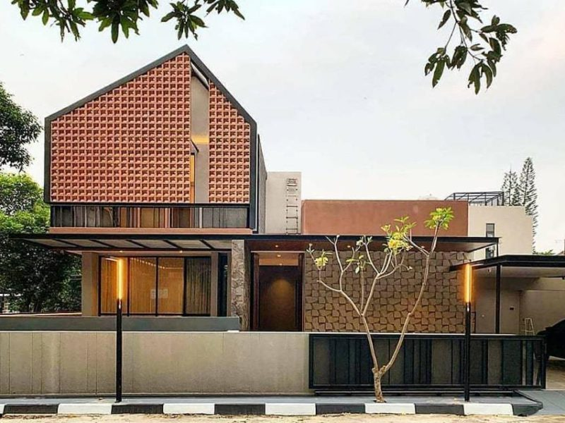 15 Inspirasi Desain Rumah Minimalis: Tampak Depan Rumah Minimalis