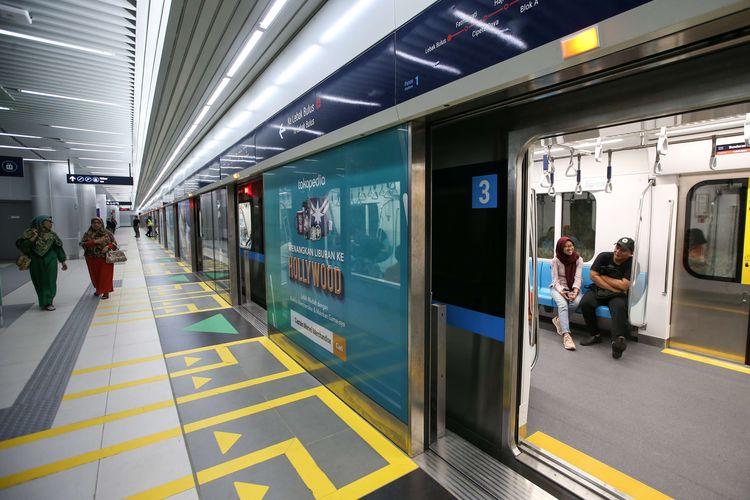 sarana transportasi umum di jakarta: MRT