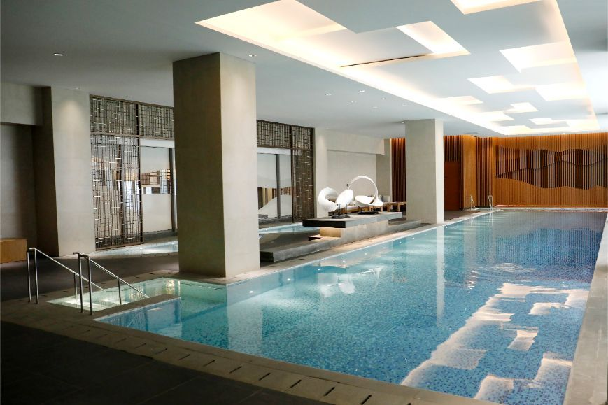 BRANZ Apartment Indoor Swimming Pool