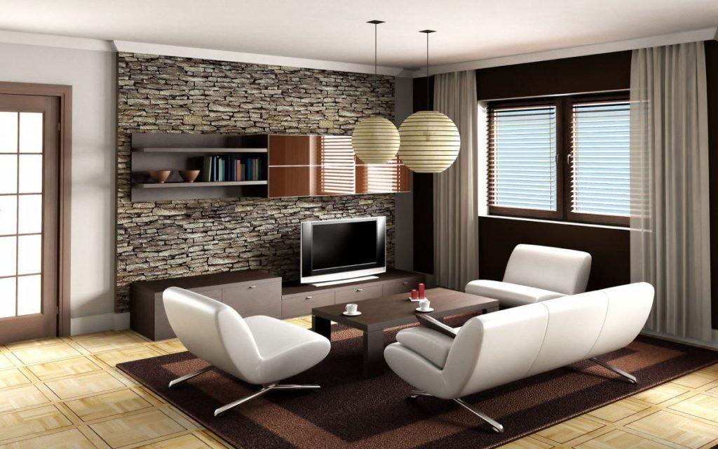 dekorasi batu alam untuk ruang tamu, batu alam untuk dekorasi rumah